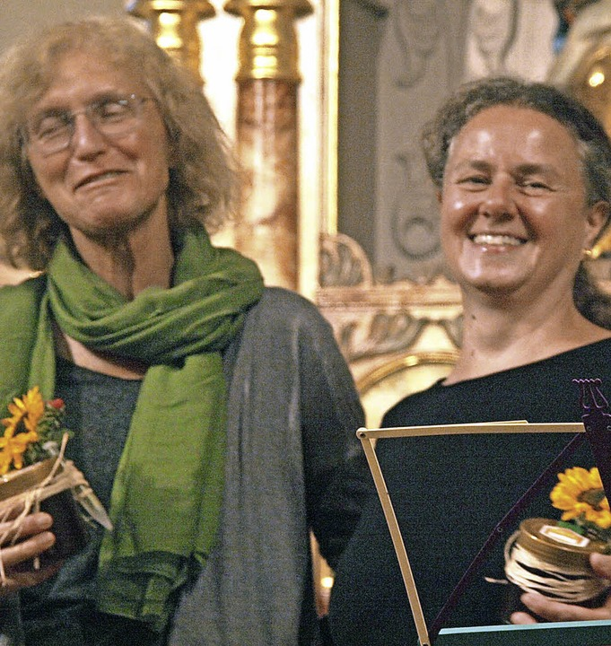 Ganz im Zeichen des Weinstocks stand d...nd von Rose Vollmer und Gabriele Grund    Foto: Karin Stöckl-Steinebrunner