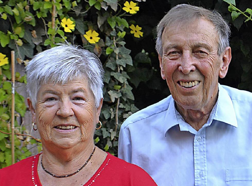 Gehen ihren Lebensweg nun seit 60 Jahr...nn und Hilda Waldvogel aus Rudenberg.     Foto: Liane schilling