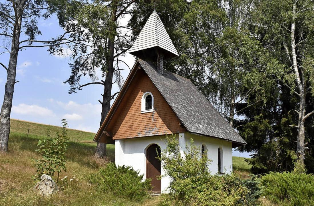 Vor 60 Jahren wurde die neue Kapelle a...ta aus der alten Kapelle ihren Platz.   | Foto: Thomas Biniossek