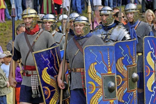 Römer kehren nach Hüfingen zurück