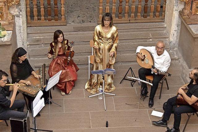 Ein Fest der Al Andalus-Musik