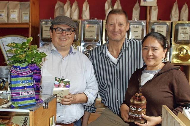 Kaffeeprojekt ermöglicht würdiges Leben