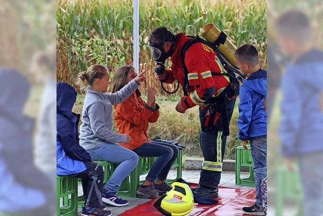 Feuer und Flamme fürs Rettungskissen