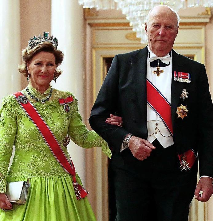 50 Jahre verheiratet: Harald und Sonja     Foto: dpa
