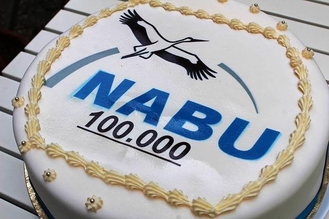 Nabu-Landesverband wächst auf 100 000 Mitglieder