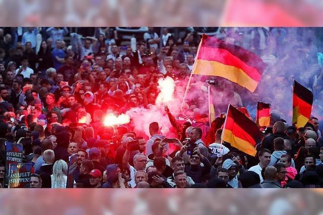 Der Tag nach der Hetzjagd von Chemnitz