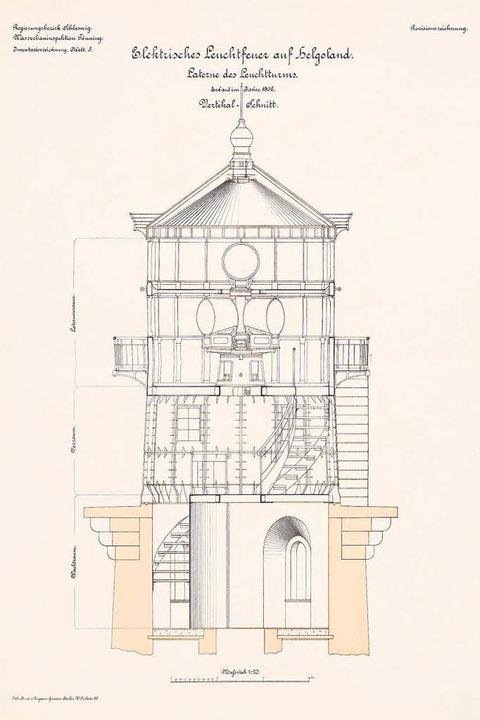 Plan für einen 1902  auf Helgoland err... wurde im Zweiten Weltkrieg  zerstört.  | Foto: N.N.
