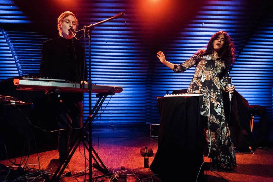 Pari San bei einem Auftritt im Jazzhaus 2017.  | Foto: FLORIAN FORSBACH