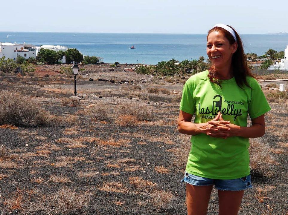 Wo die einen  Urlaub machen (hier Lanz... wie Myriam Barros ein besseres Leben.  | Foto: dahms