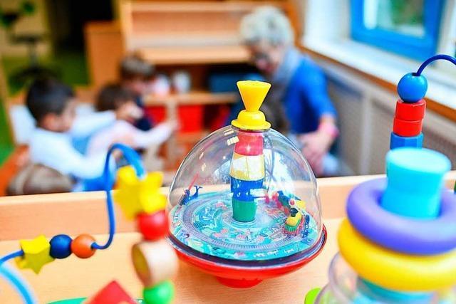 Krippen- und Kindergartenkinder sind im Südwesten gut versorgt