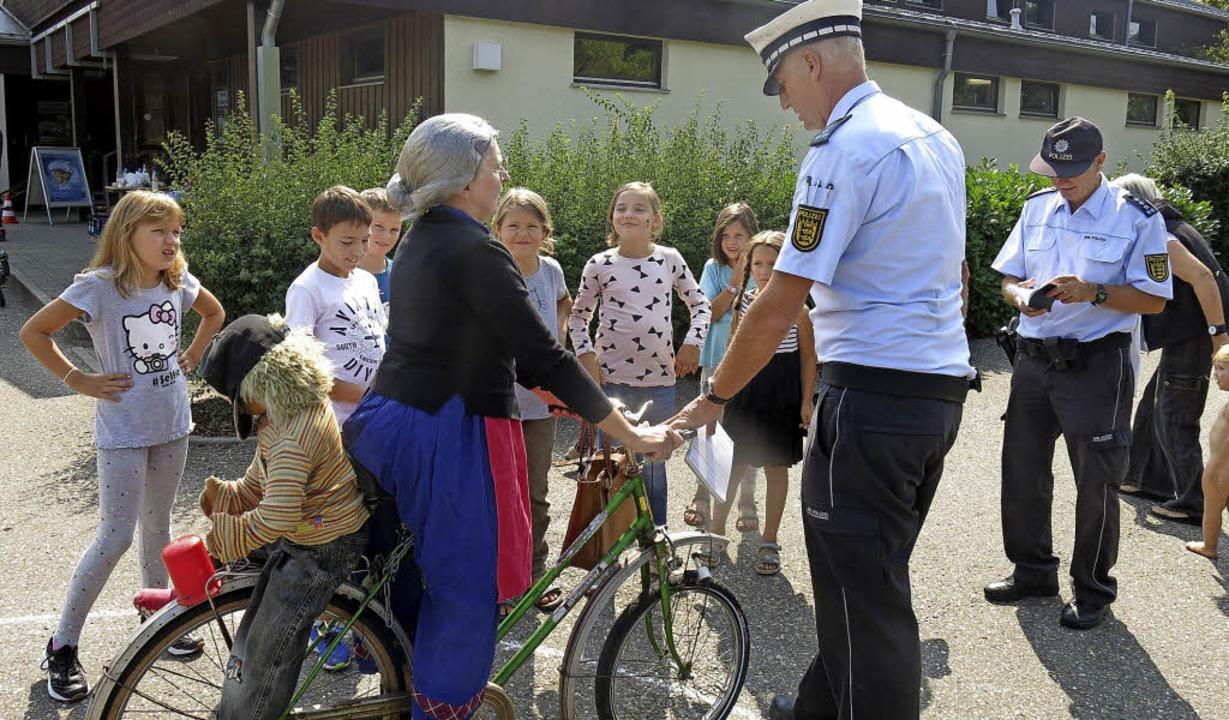 Dieses Fahrrad kam nicht durch die Verkehrskontrolle    Foto: Georg Voß