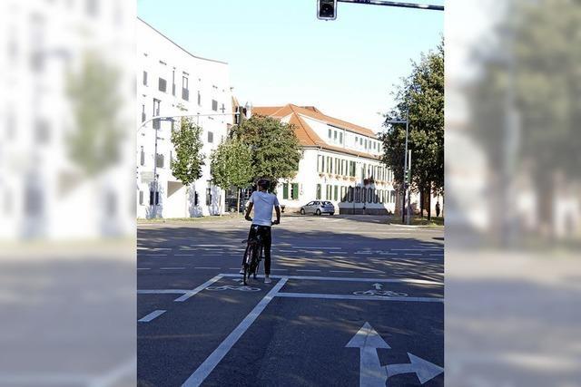 Die Radwege dürfen nicht zugeparkt werden