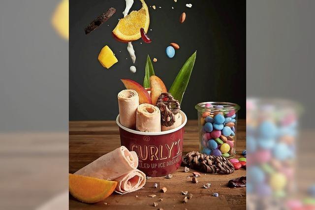 Foodtrucks und Eiscrème
