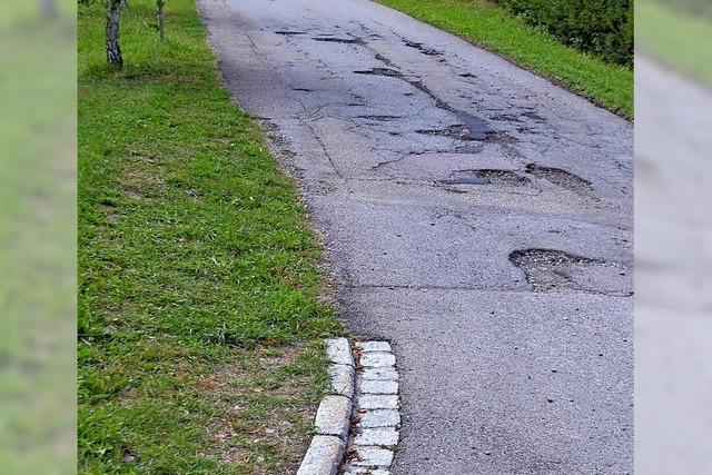 Straßen werden saniert