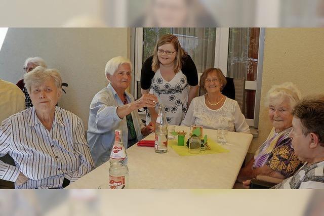 Sommerfest bei den Senioren