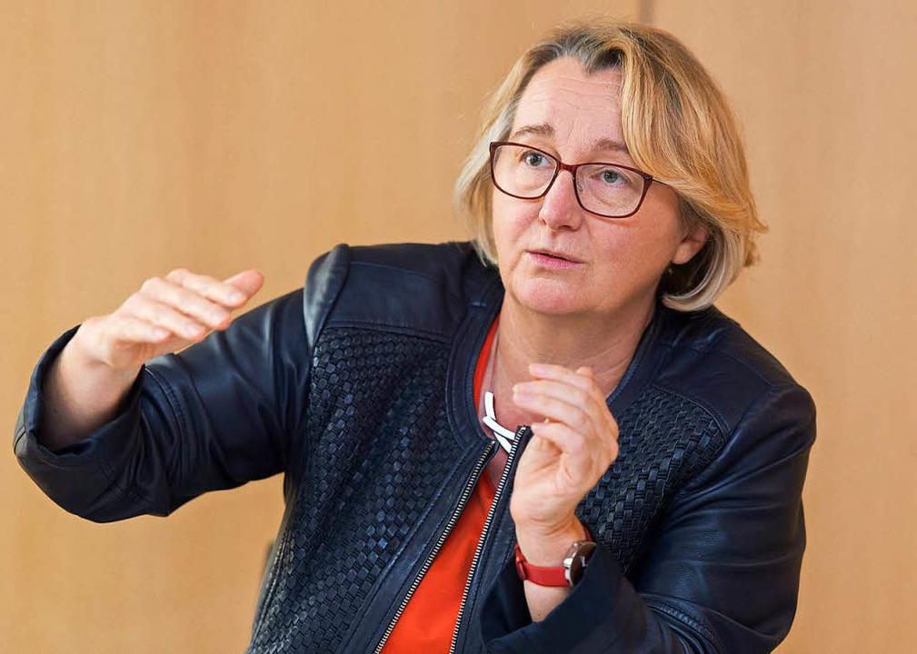 In der Kritik: Ministerin Theresia Bauer    Foto: dpa