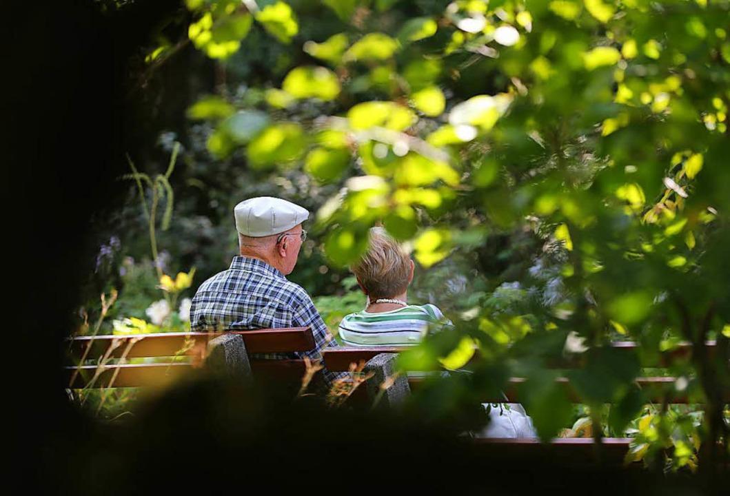 Das Niveau der Renten soll bis 2025 auf dem heutigen Stand bleiben.   | Foto: DPA