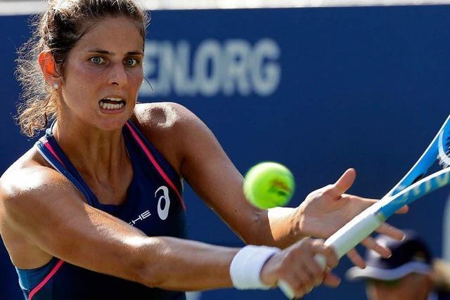 Zweitrunden-Aus für Görges bei den US Open - Auch Maria draußen