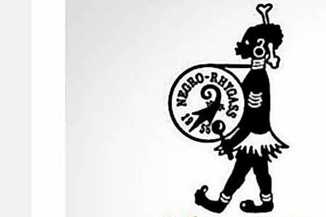 Die Basler Gugge Negro Rhygass will über ihr Logo reden, aber der Name bleibt