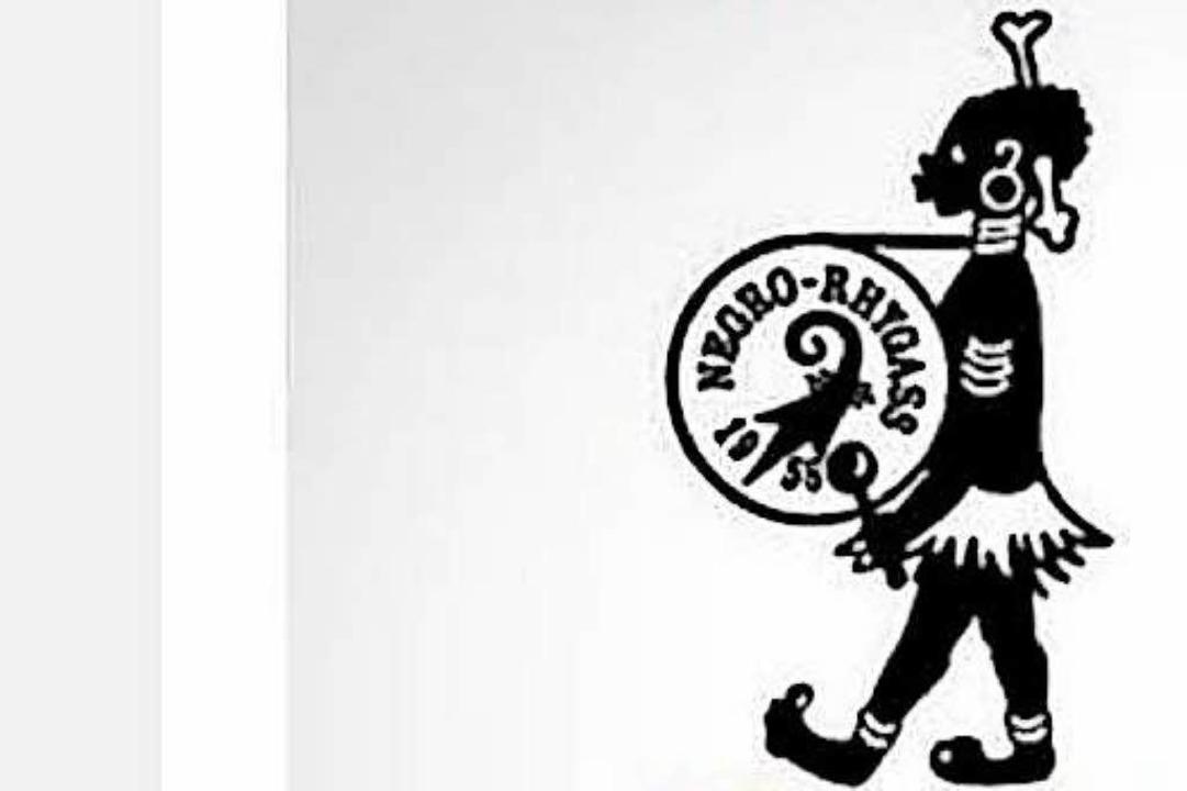 Das umstrittene Logo der  Negro Rhygass  | Foto: BZ