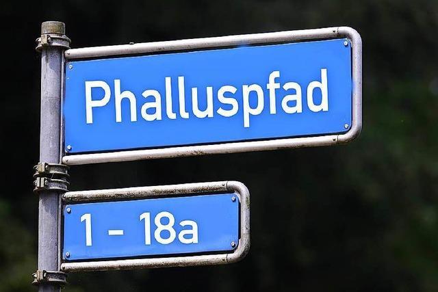 Warum es in Freiburg bei Google Maps schlüpfrige Straßennamen gibt