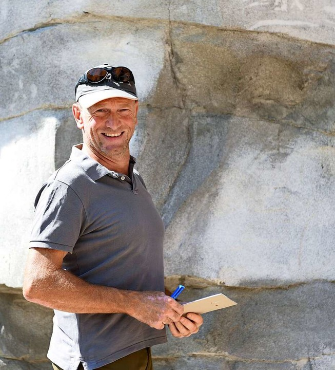 Axel Steiert ist stellvertretender Leiter des Tiergeheges.  | Foto: Rita Eggstein