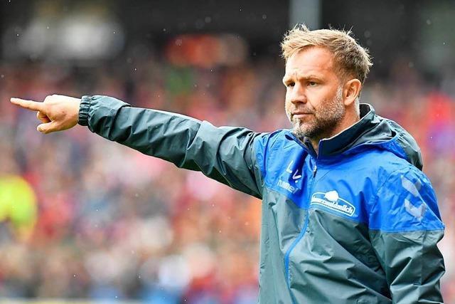 Co-Trainer Lars Voßler über verletzten Streich: