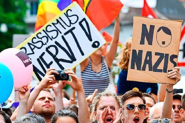 Am Freitag soll in Freiburg gegen Rechtsextremismus demonstriert werden