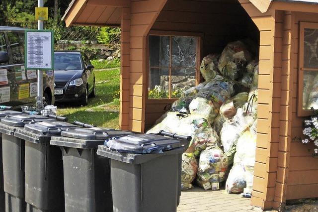 Müll statt Mitfahrer