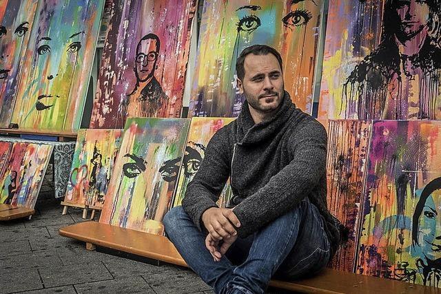 Ein spätberufener Künstler in stetigem Wandel