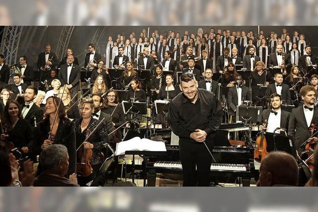 Rock Symphonie Orchestra Orso auf der Landesgartenschau in Lahr