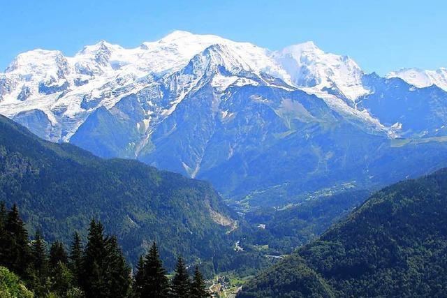 Zwei Freiburger sterben bei Flugzeugabsturz im Mont-Blanc-Gebiet