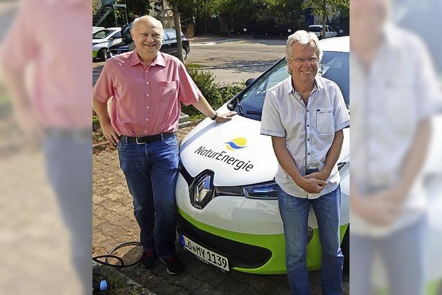 Gemeinde Wittnau fährt jetzt auch mit Strom