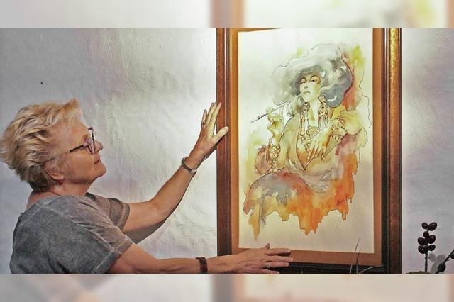 Die Dekomalerin und der Kunstmaler