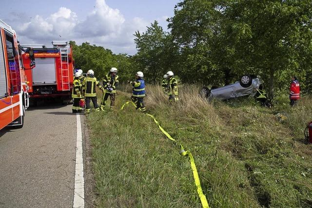 Autofahrerin bei Verkehrsunfall verletzt