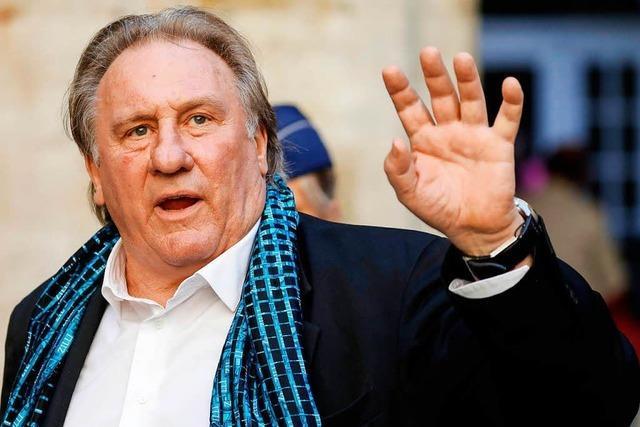 Schauspielerin zeigt Gérard Depardieu wegen sexueller Übergriffe an