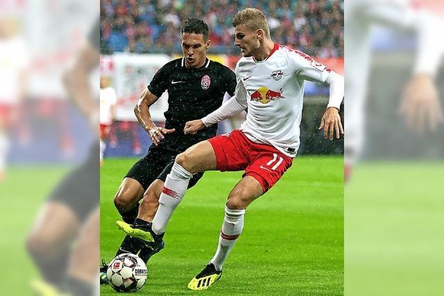 Leipzig zittert sich in Europa League