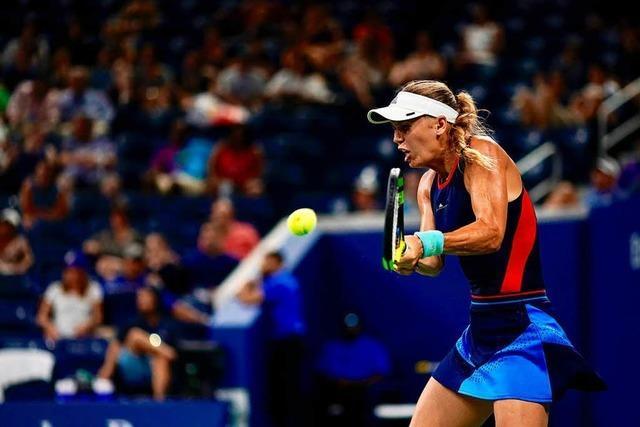 Wozniacki bei US Open raus - Struff glücklich