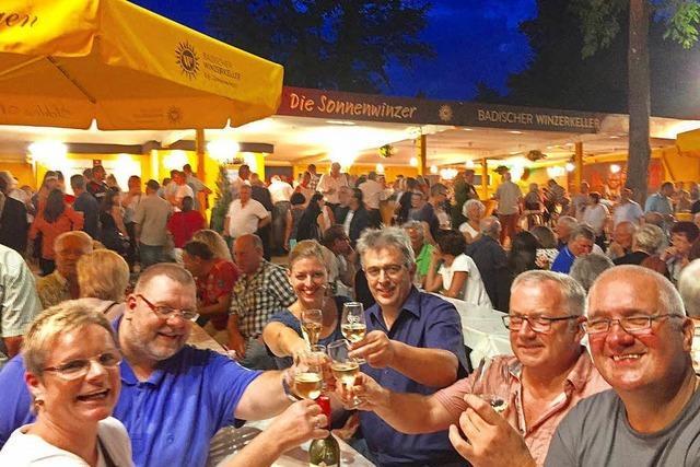 Heute beginnt das Weinfest in Breisach