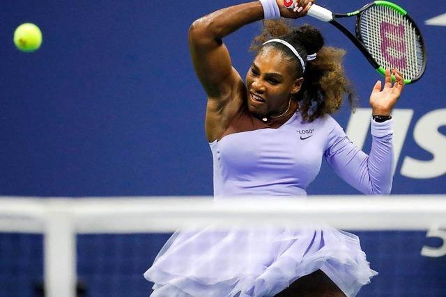 Debatte um Gleichberechtigung im Sport geht weiter – mit Williams' Tennis-Outfit