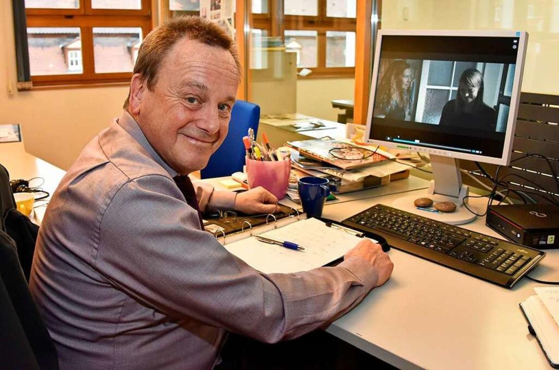 Konrad Rotzinger ist bei der Kriminalp...ermisstenfälle zuständig (Archivbild).  | Foto: Michael Bamberger