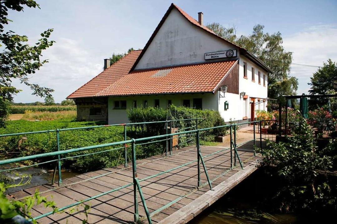 Die Dundenheimer Mühle: beschaulich-still,  weithin bekannt und gerne besucht  | Foto: Christoph Breithaupt