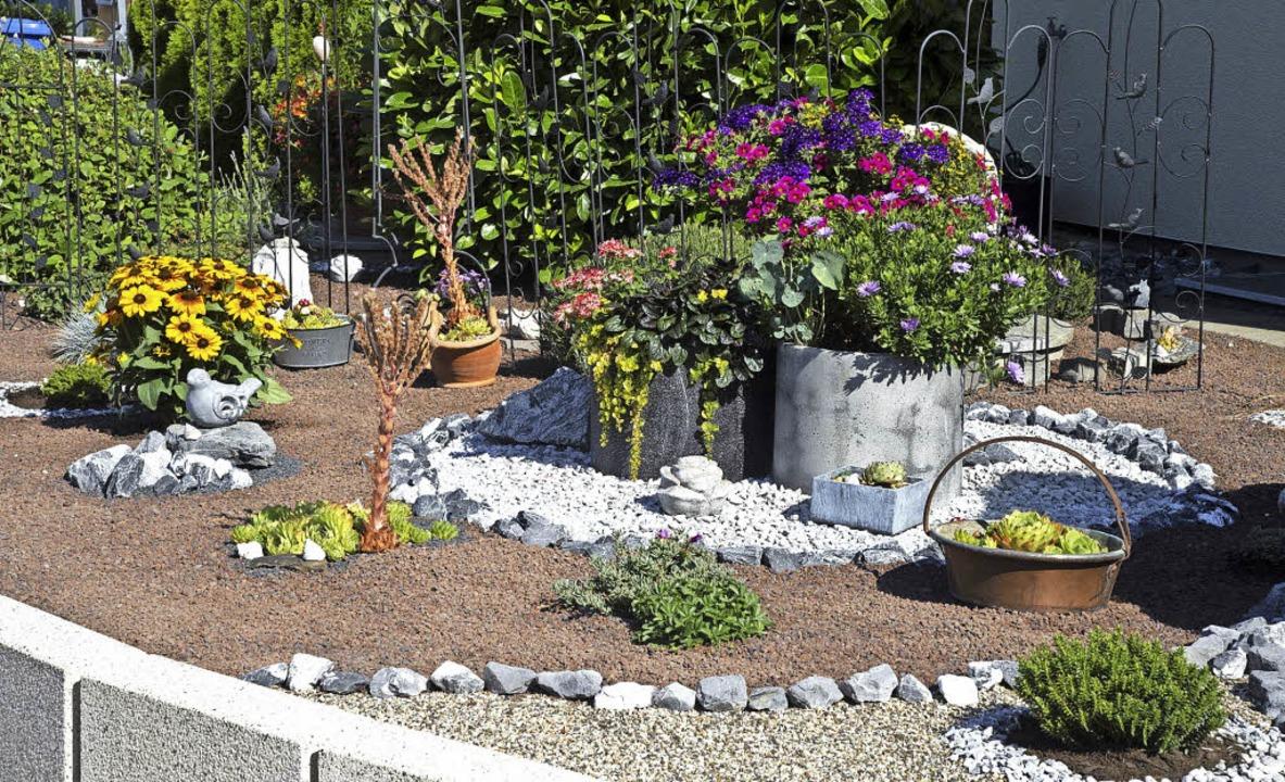 Eine gelungene Gartengestaltung liegt ...amilie Ermert in den kleinen Details.     Foto: Volker Münch