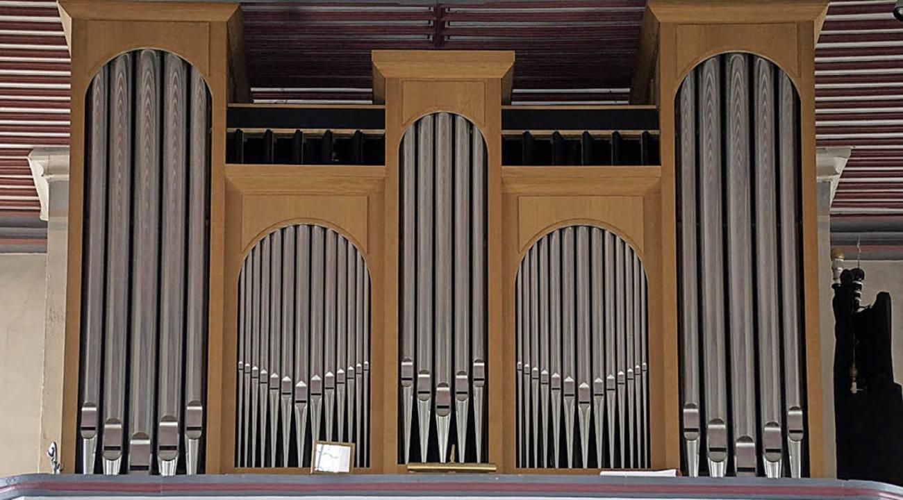 Die Orgel in der Pfarrkirche St. Pankr...Orgel-Interessierten erklärt werden.      Foto: Werner Steinhart