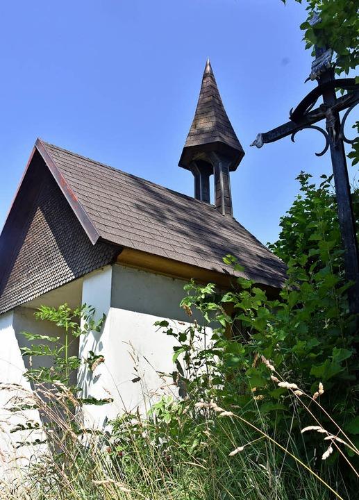 Die Herz-Jesu-Kapelle beim Großjockenhof   | Foto: Thomas Biniossek