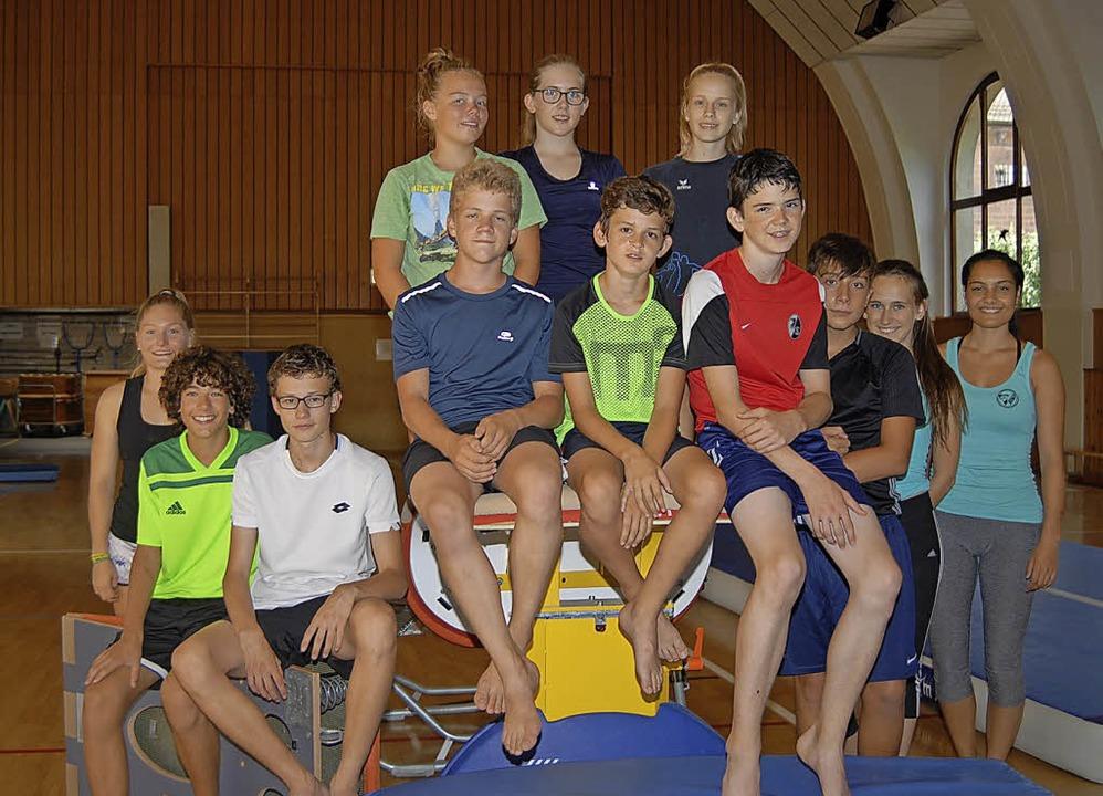 Teilnehmer beim Jugendsportcamp des SV Waldkirch   | Foto: Privat