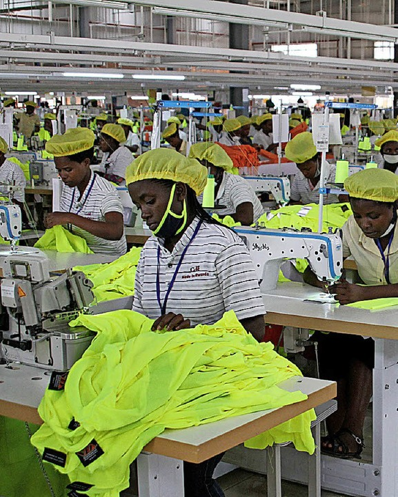 Chinesische Textilfabrik in Ruandas Hauptstadt Kigali  | Foto: DPA