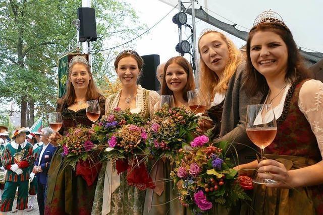 Das 62. Breisacher Weinfest ist eröffnet