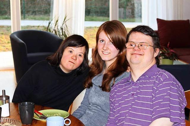 In Emmendingen haben zwei junge Leute mit Down-Syndrom einen Hausstand gegründet
