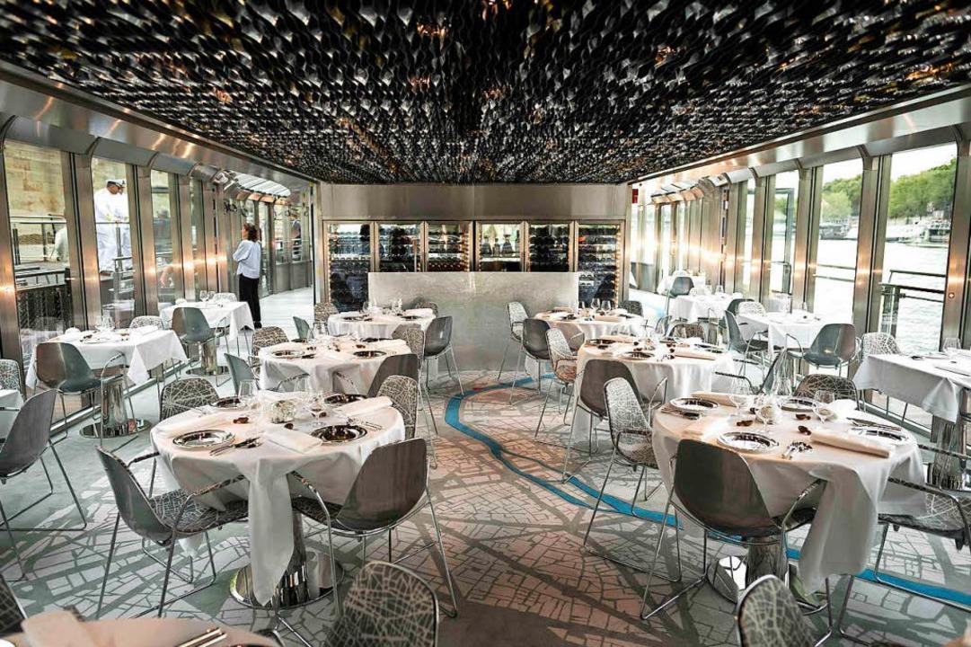 Symbolfoto eines leeren Restaurants.  | Foto: AFP